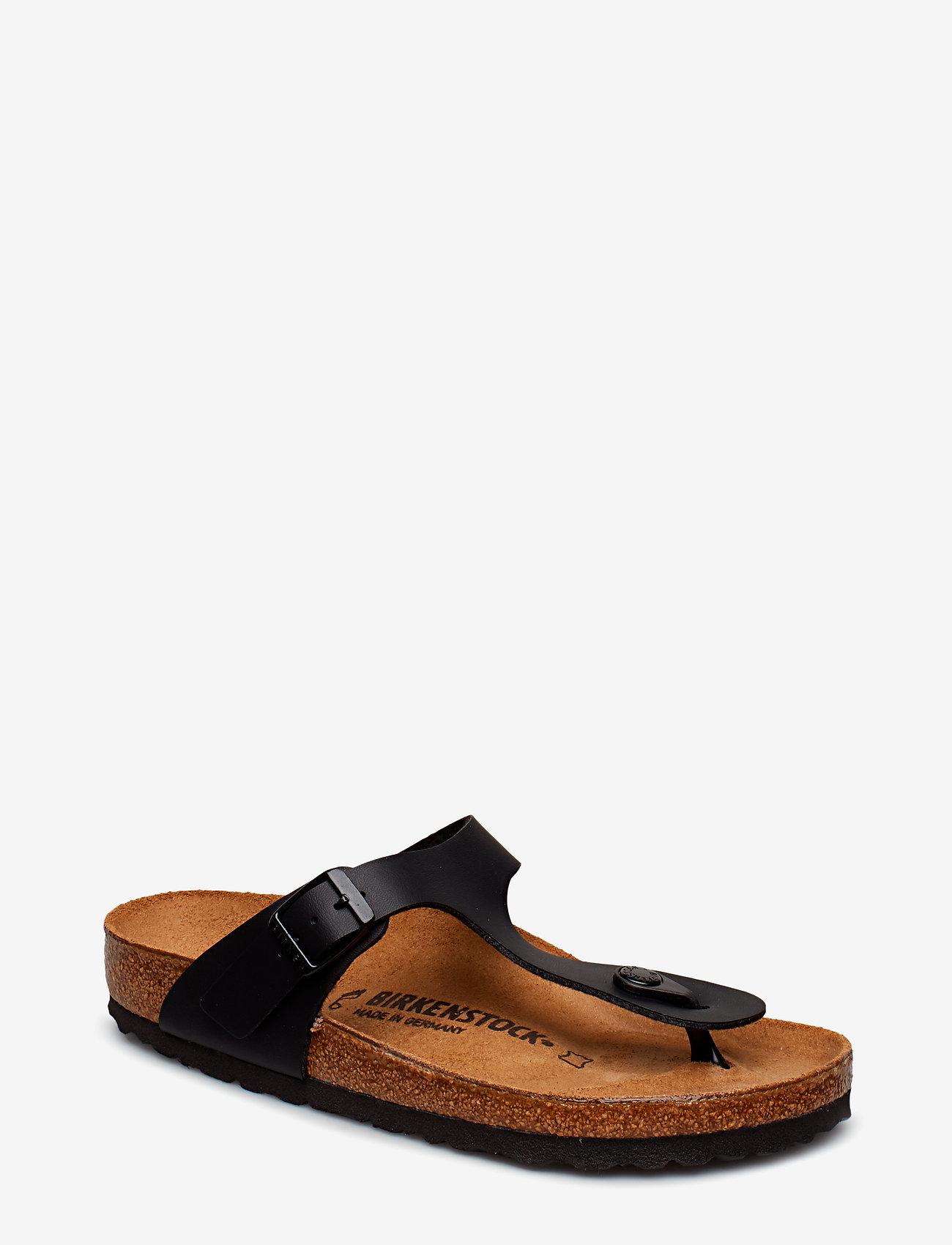 Birkenstock - Gizeh - flade sandaler - black - 0