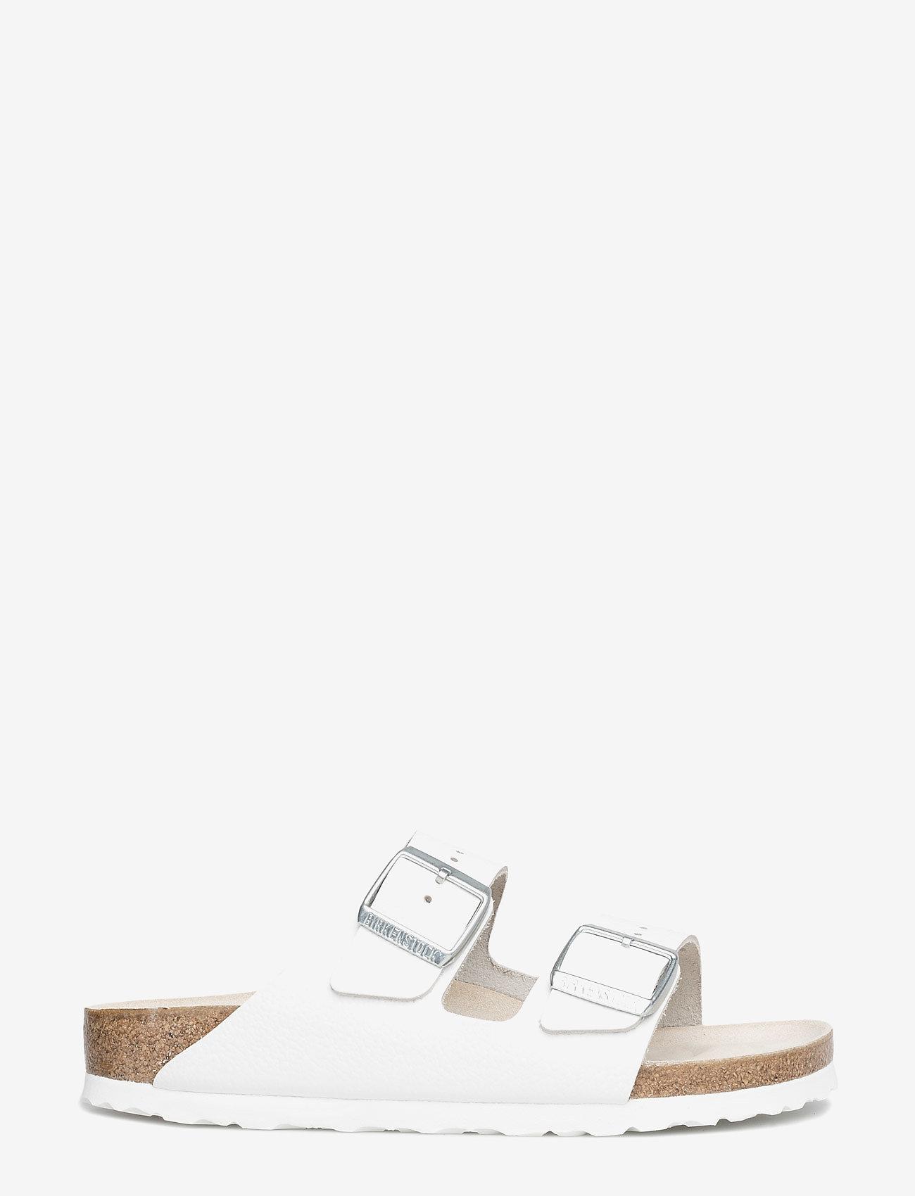 Birkenstock - Arizona - flade sandaler - white - 1