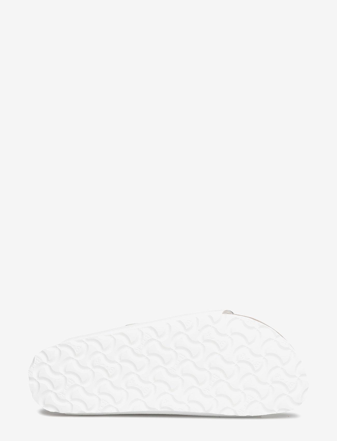 Birkenstock - Arizona - flade sandaler - white - 4