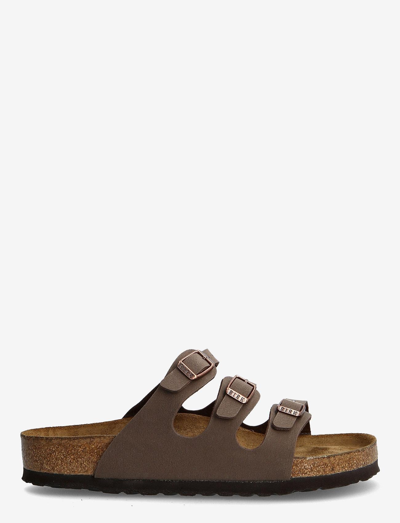 Birkenstock - Florida Soft Footbed - flade sandaler - mocca - 1