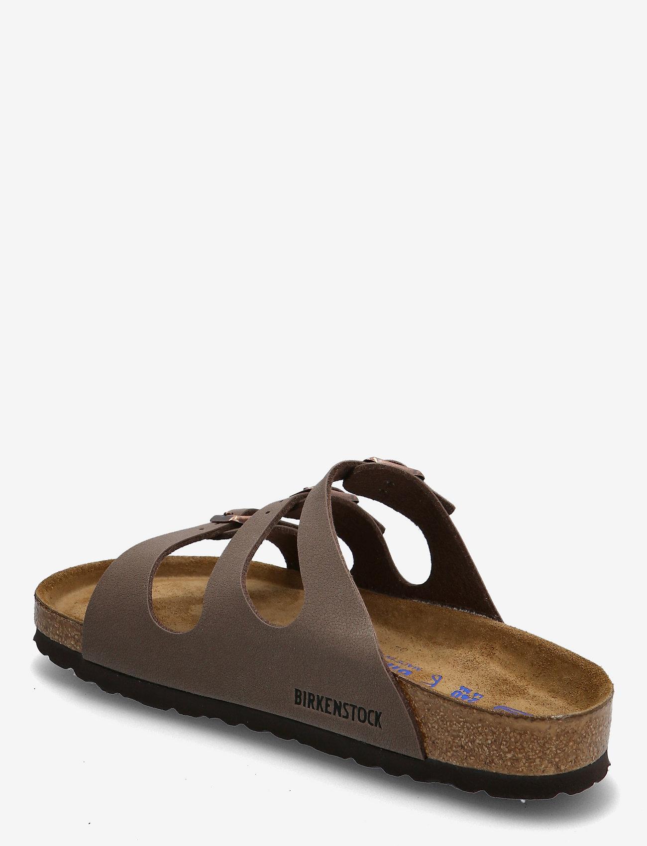 Birkenstock - Florida Soft Footbed - flade sandaler - mocca - 2