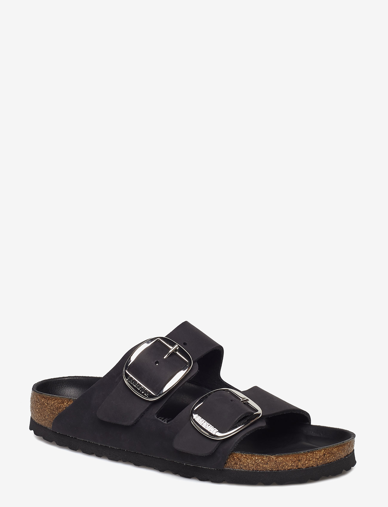 Birkenstock - Arizona Big Buckle - flade sandaler - black - 0