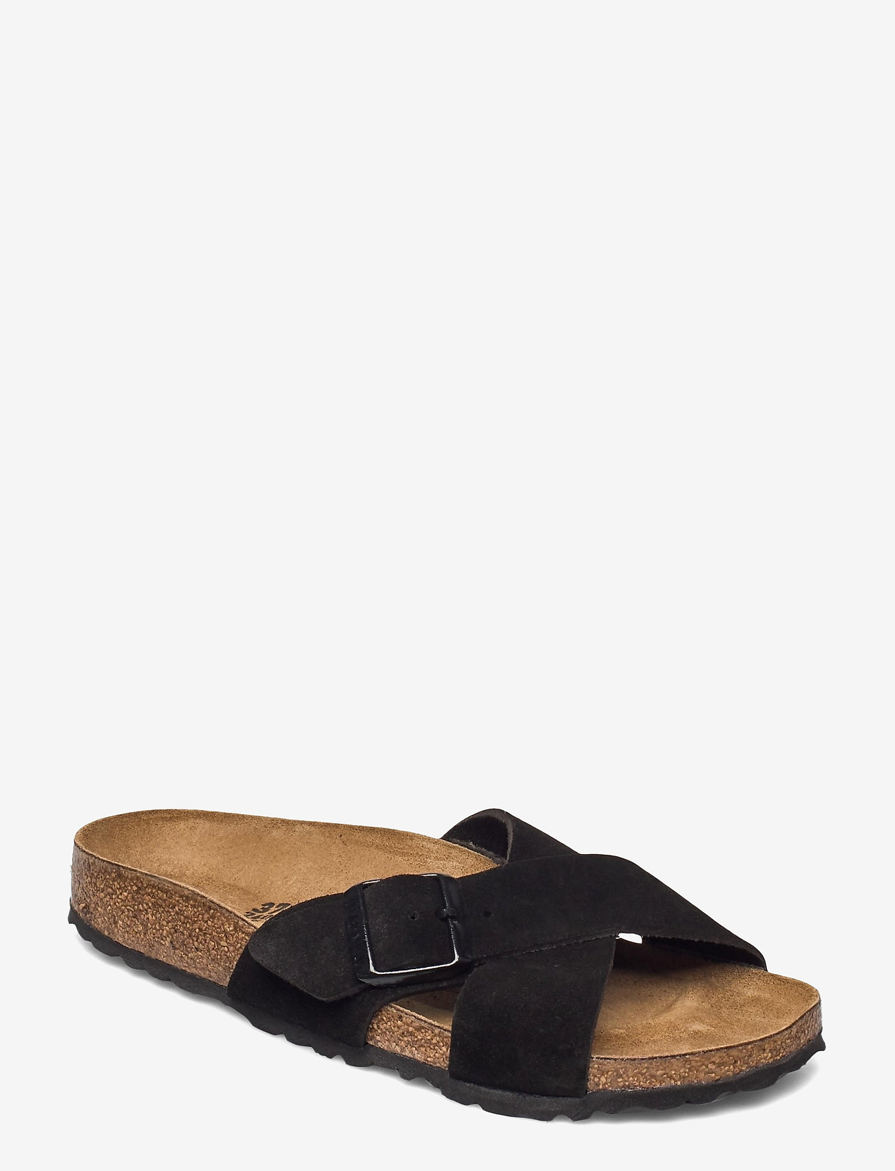Birkenstock - Siena - flade sandaler - black - 0