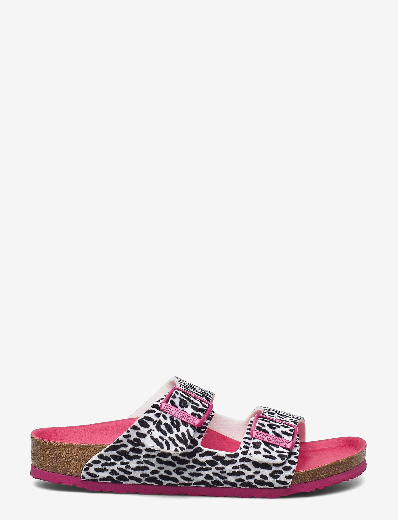 Birkenstock - Arizona - hjemmesko - leo lilly black pink - 1