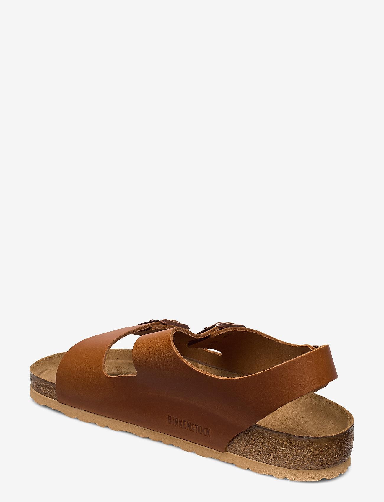 Birkenstock - Milano - sandaler - pull cognac - 2