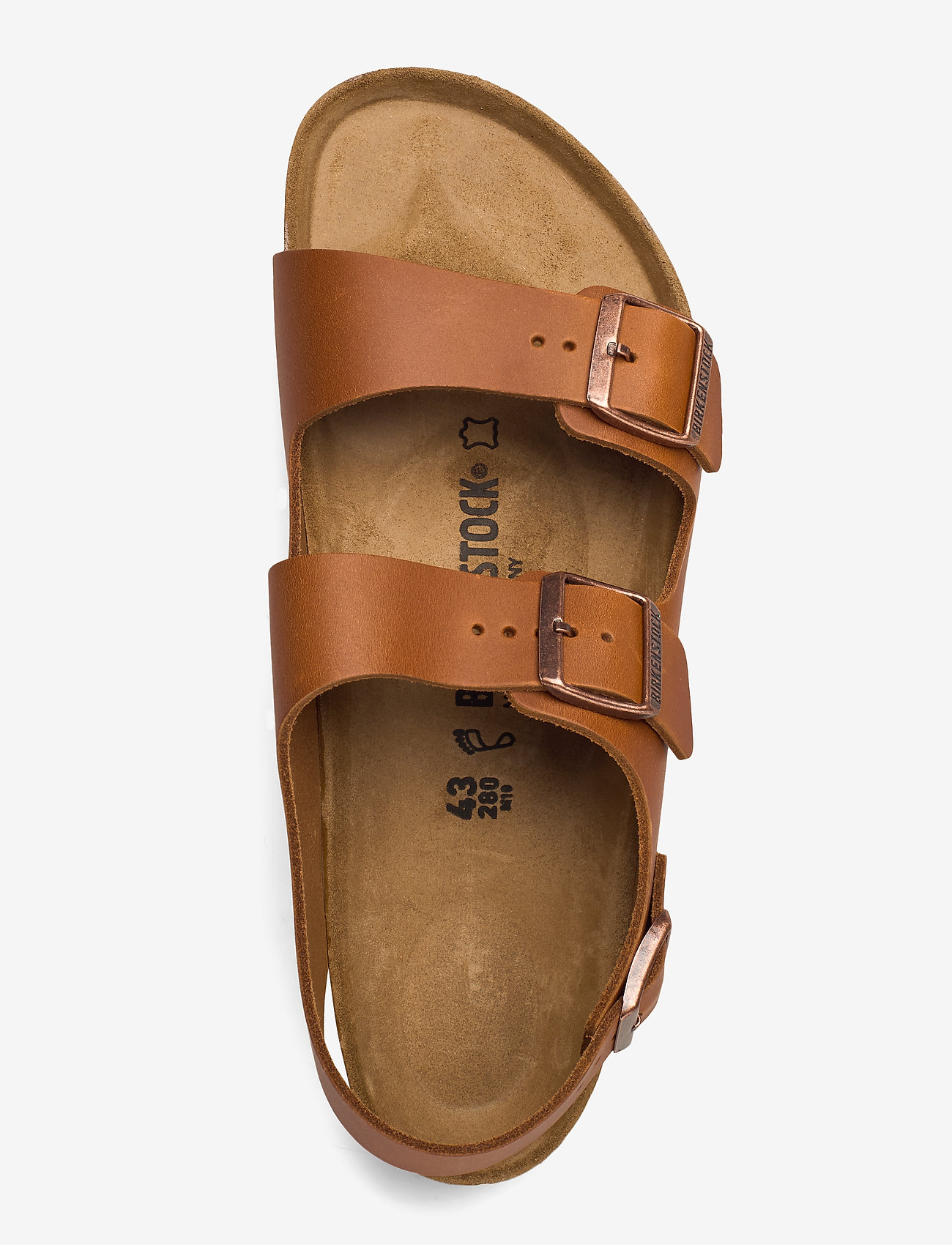 Birkenstock - Milano - sandaler - pull cognac - 3
