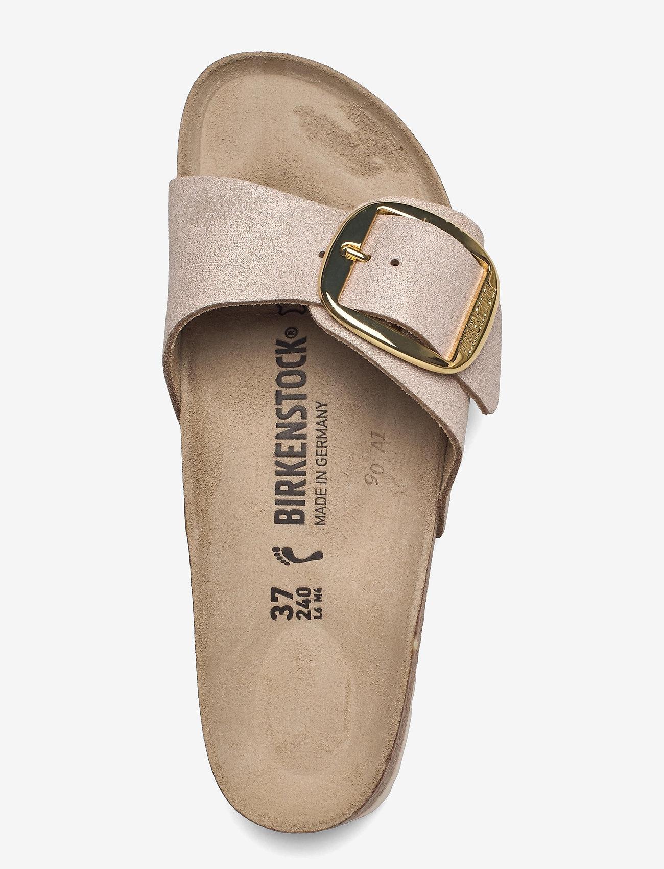 Birkenstock - Madrid Big Buckle - flade sandaler - washed metallic rose gold - 3