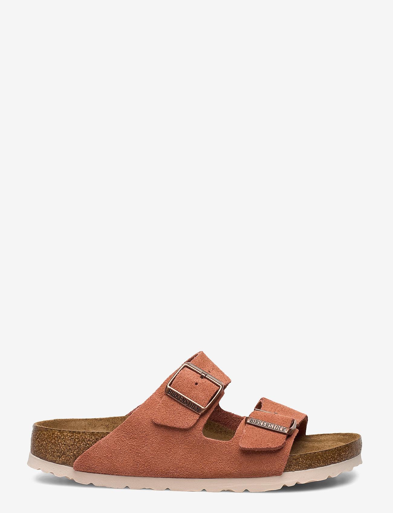 Birkenstock - Arizona Soft Footbed - flade sandaler - earth red - 1