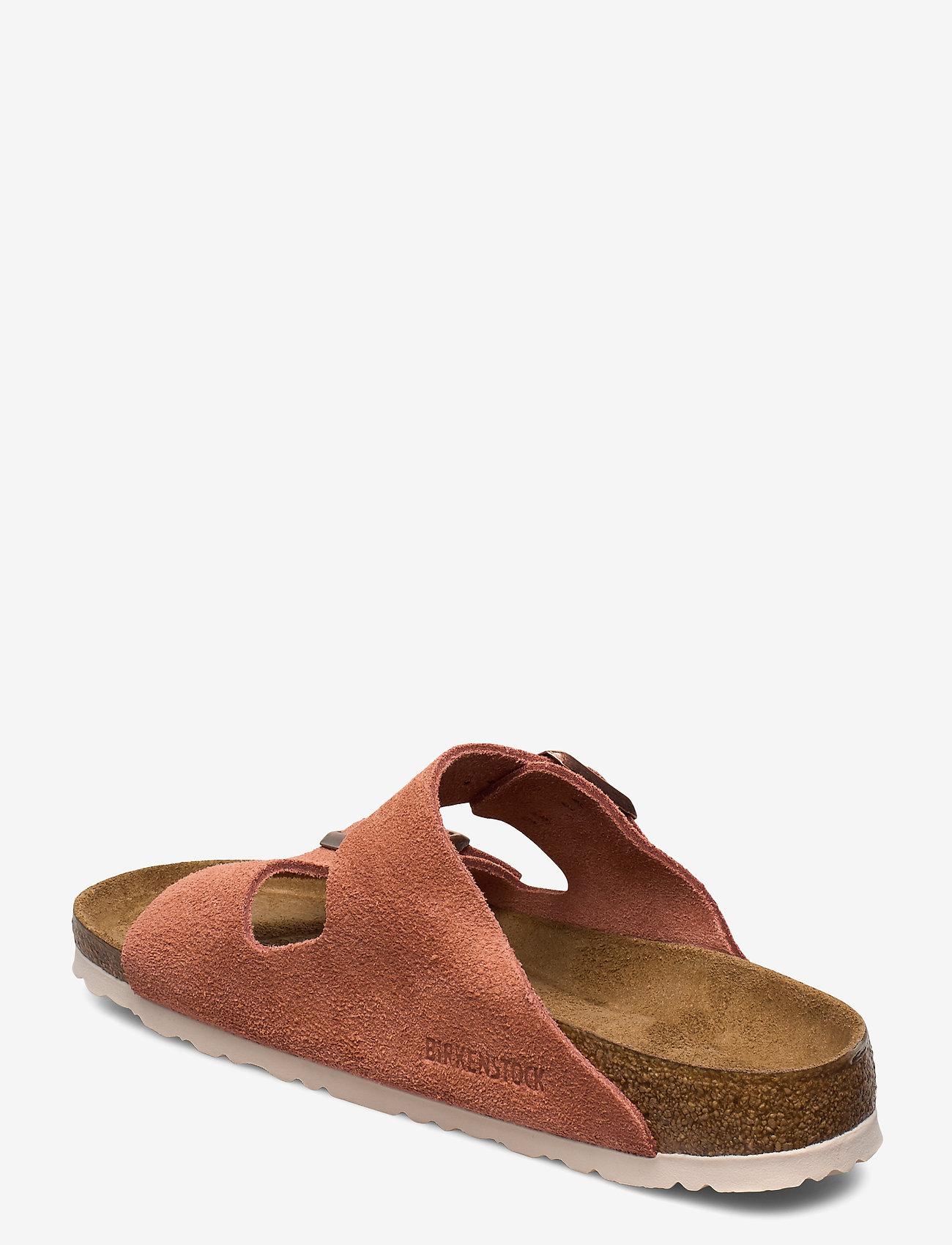 Birkenstock - Arizona Soft Footbed - flade sandaler - earth red - 2