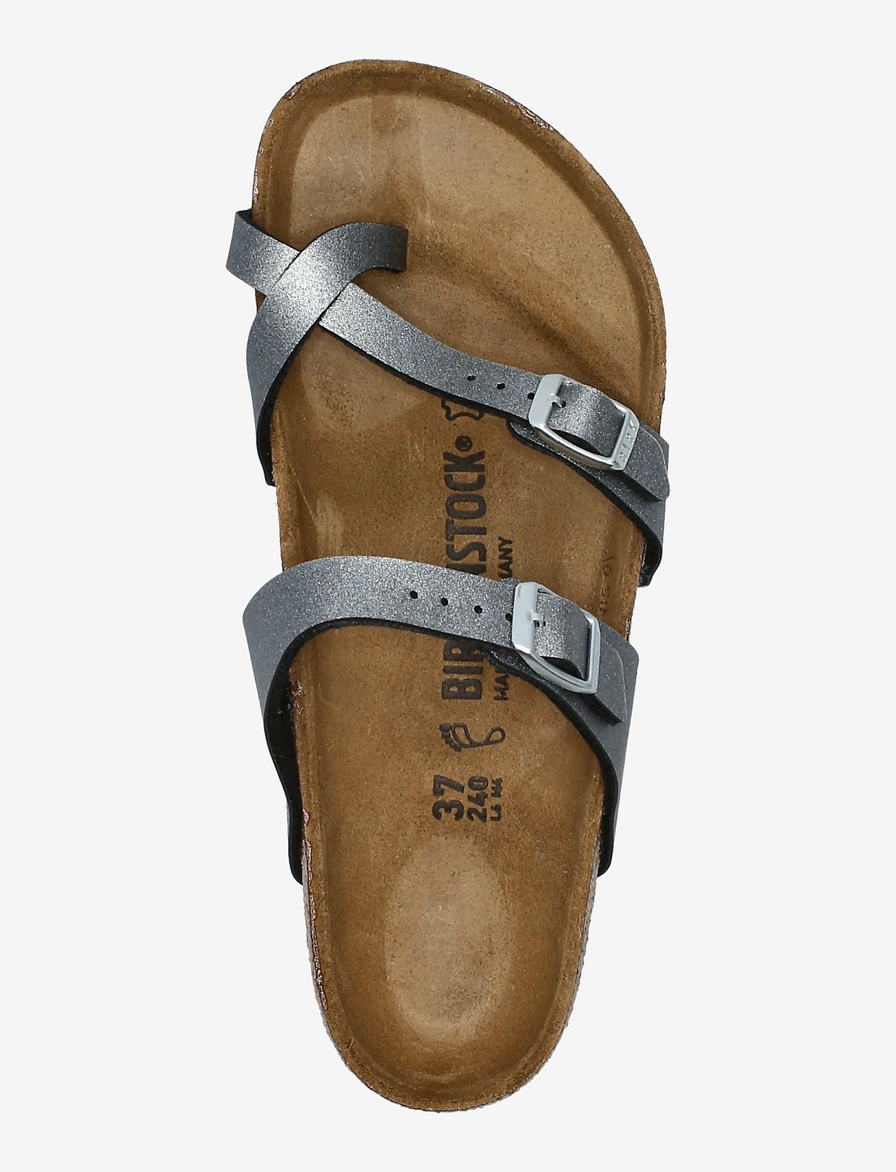 Birkenstock - Mayari - flade sandaler - icy metallic anthracite - 3