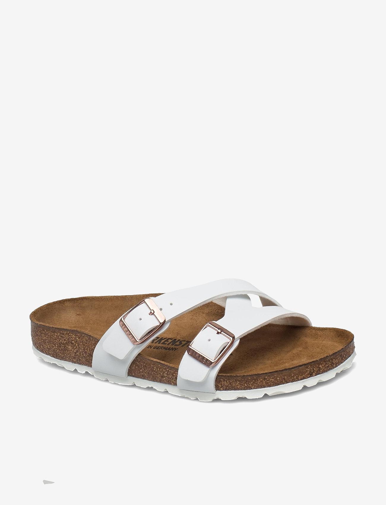 Birkenstock - Yao Balance - flade sandaler - white - 0