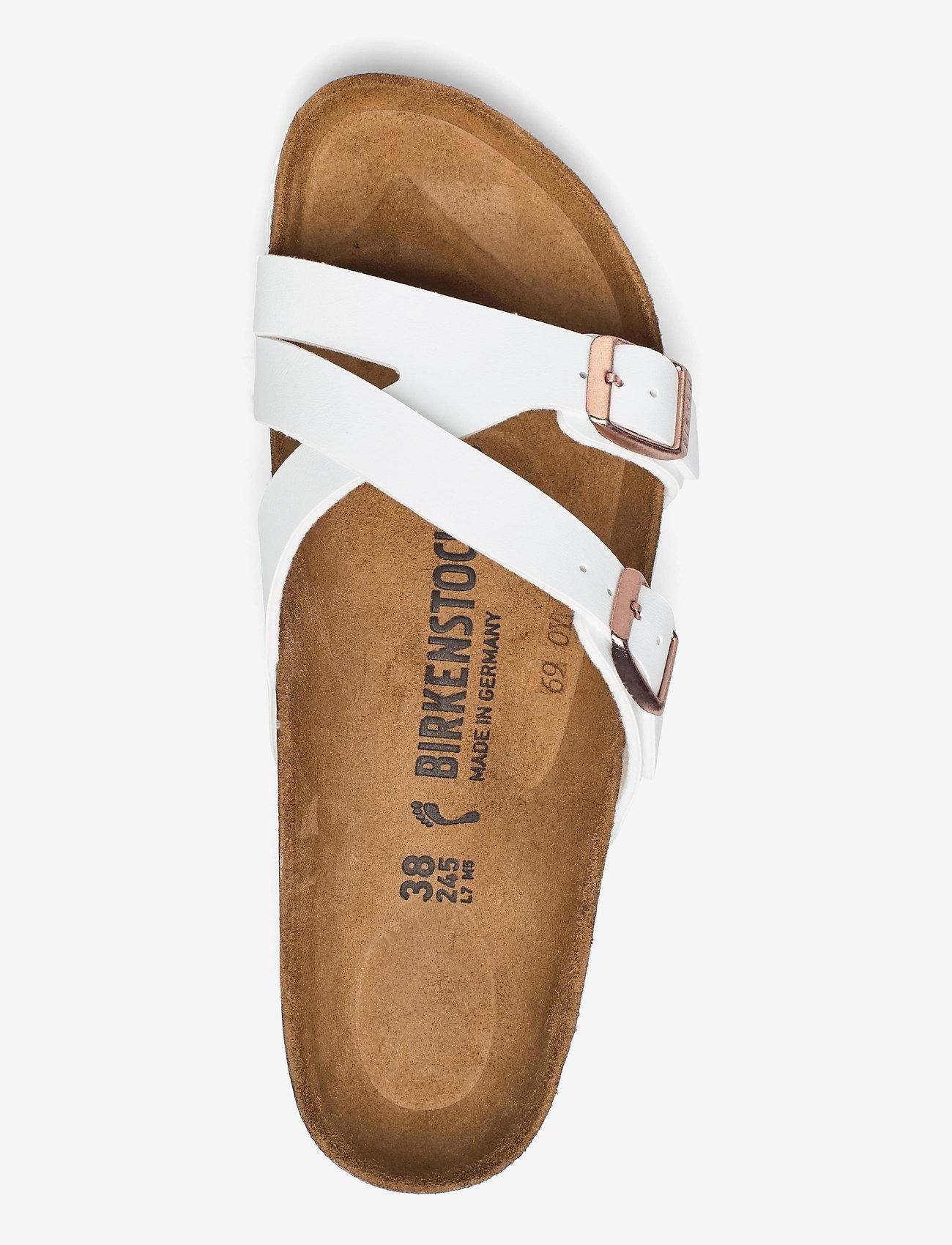 Birkenstock - Yao Balance - flade sandaler - white - 3