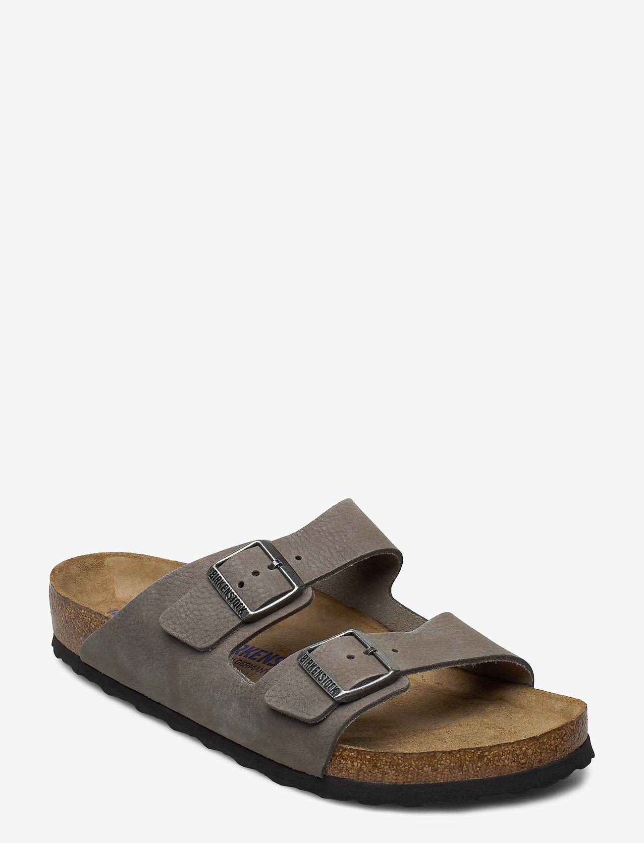 Birkenstock - Arizona Soft Footbed - sandaalit - tumbuling buck soft whale gray - 0