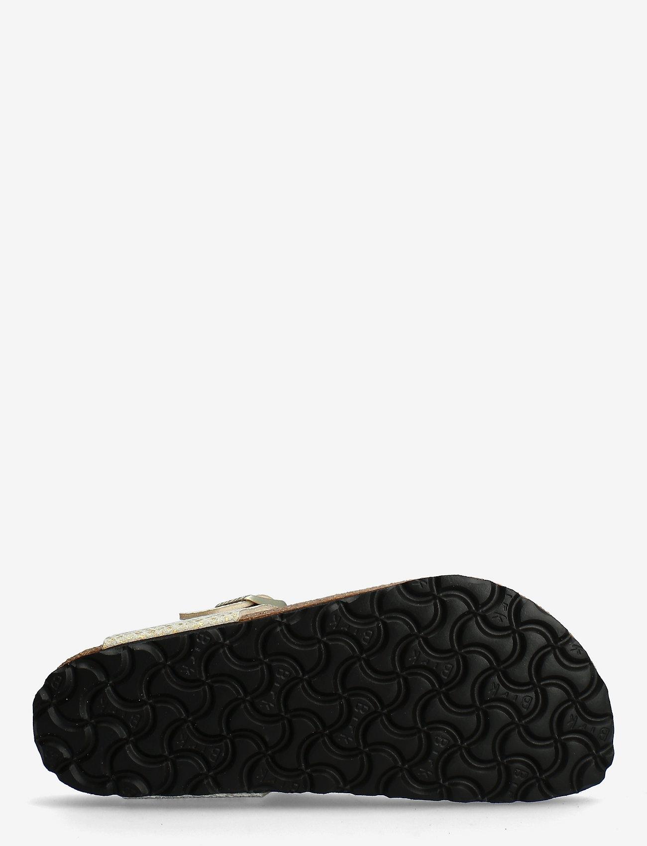 Birkenstock - Gizeh - flade sandaler - shiny python egsehell/gold - 4