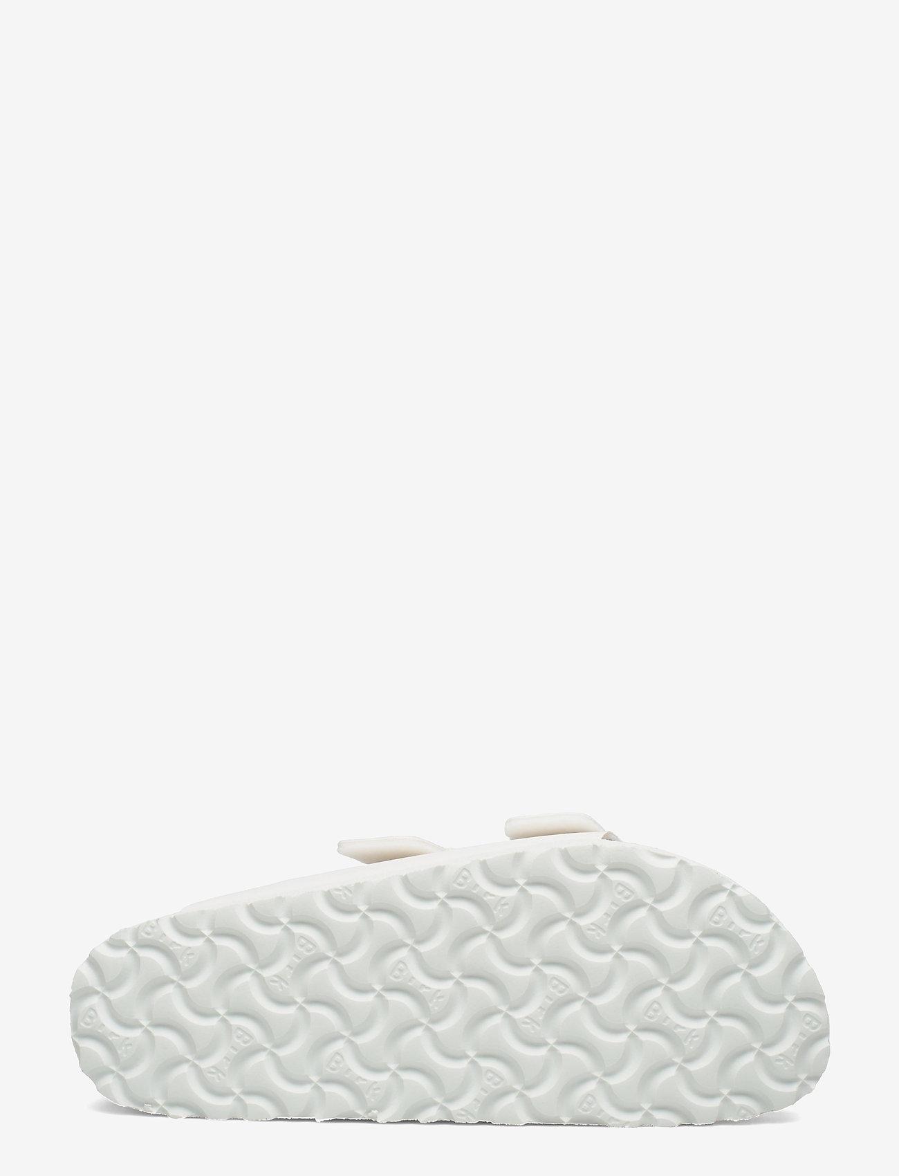 Birkenstock - Arizona Grooved Vegan - flade sandaler - white - 4