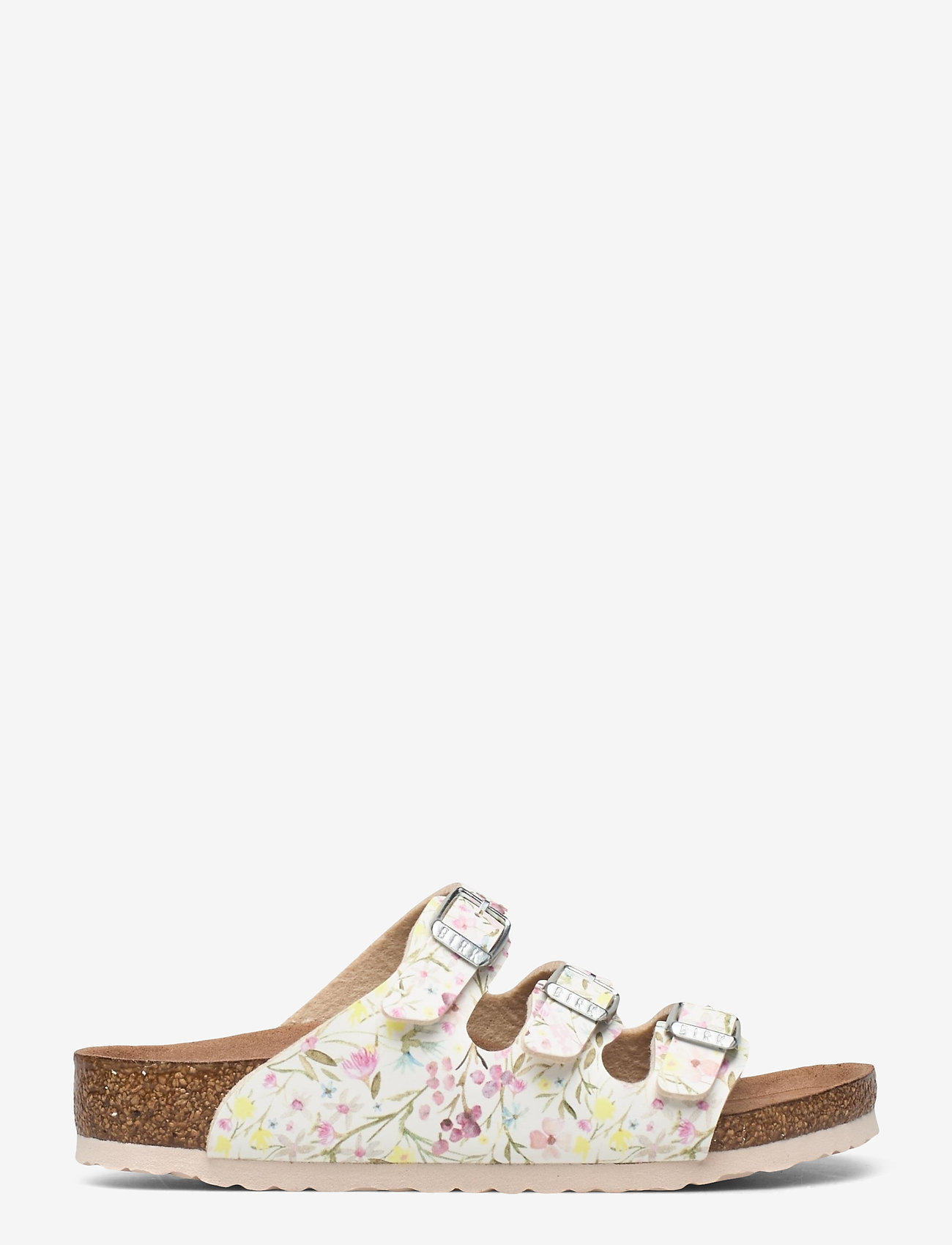 Birkenstock - Florida Vegan - schuhe - watercolor flower white - 1