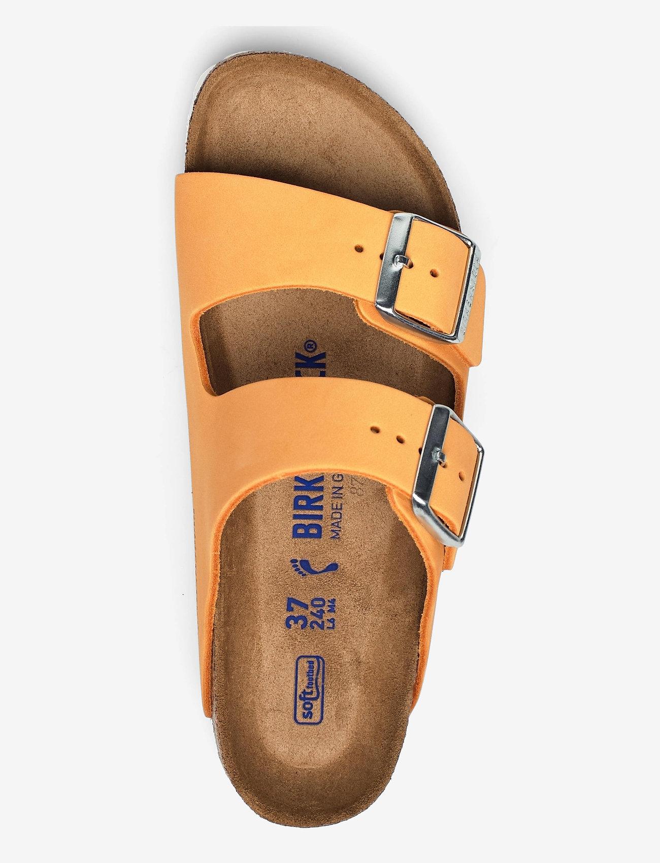 Birkenstock - Arizona Soft Footbed - flade sandaler - apricot - 3