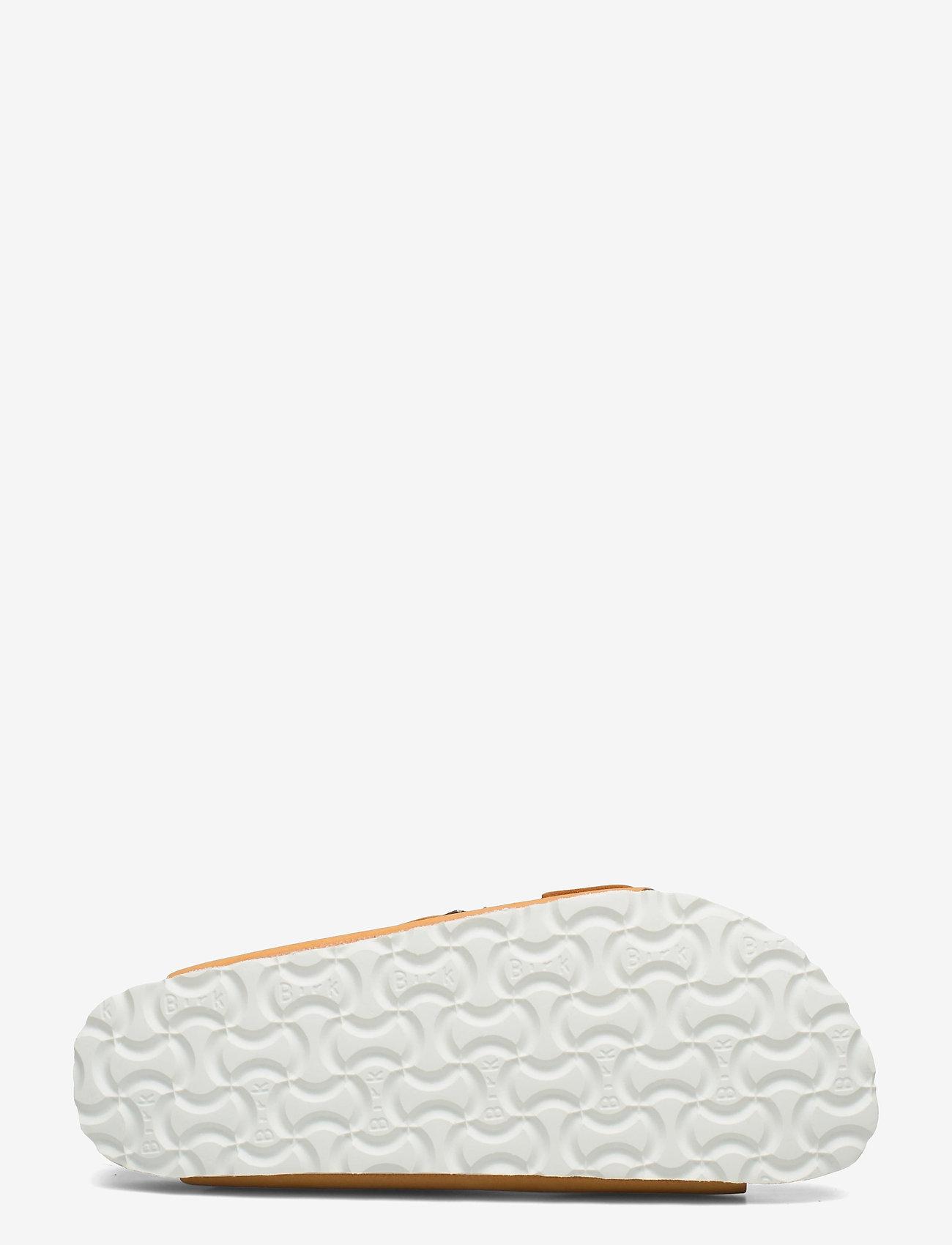 Birkenstock - Arizona Soft Footbed - flade sandaler - apricot - 4