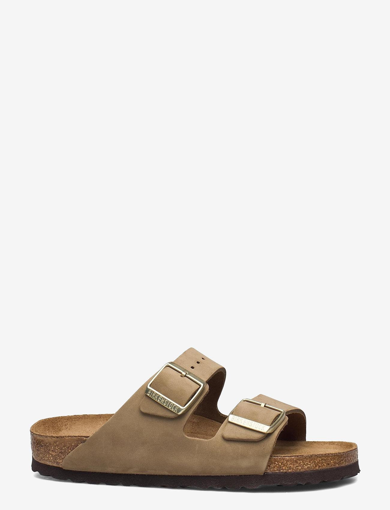 Birkenstock - Arizona Soft Footbed - flade sandaler - faded khaki - 1