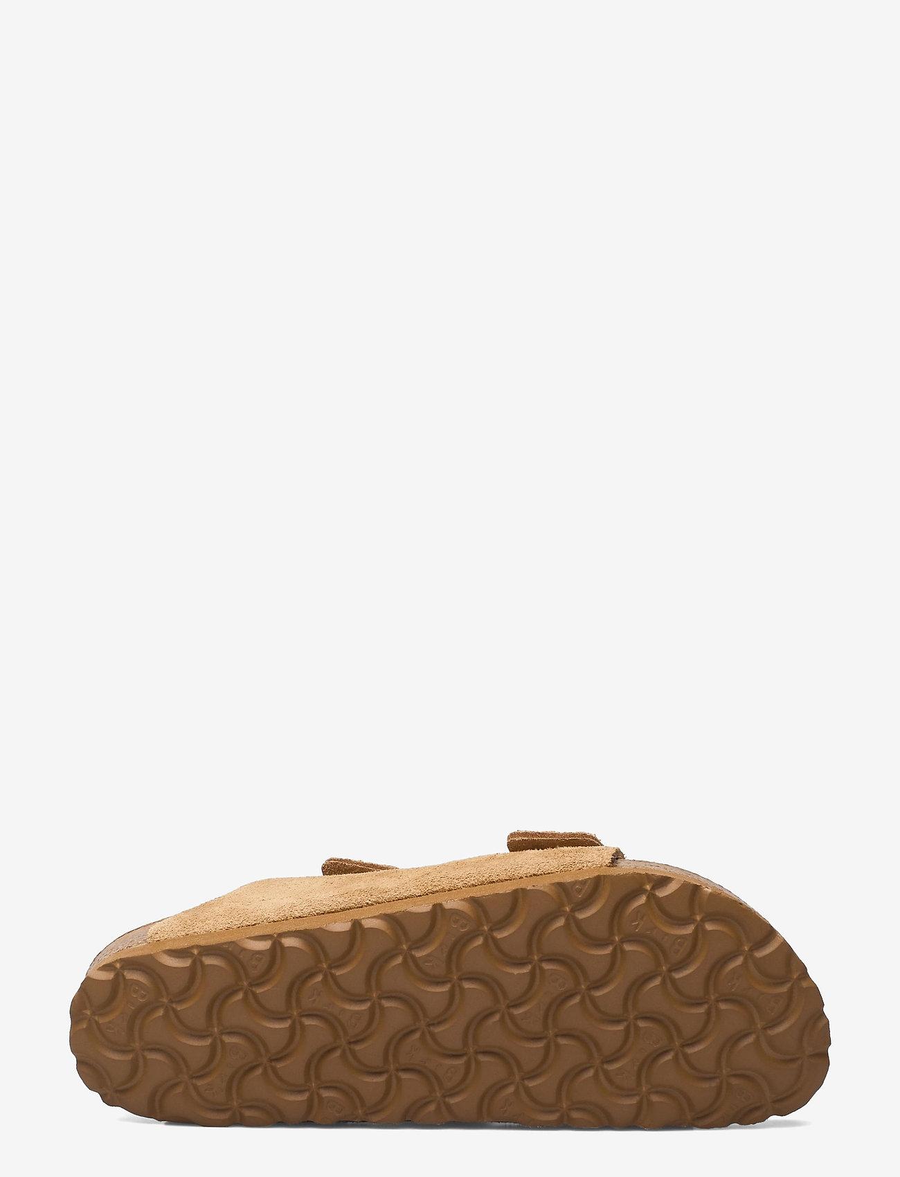Birkenstock - Arizona Soft Footbed - flade sandaler - latte cream - 4