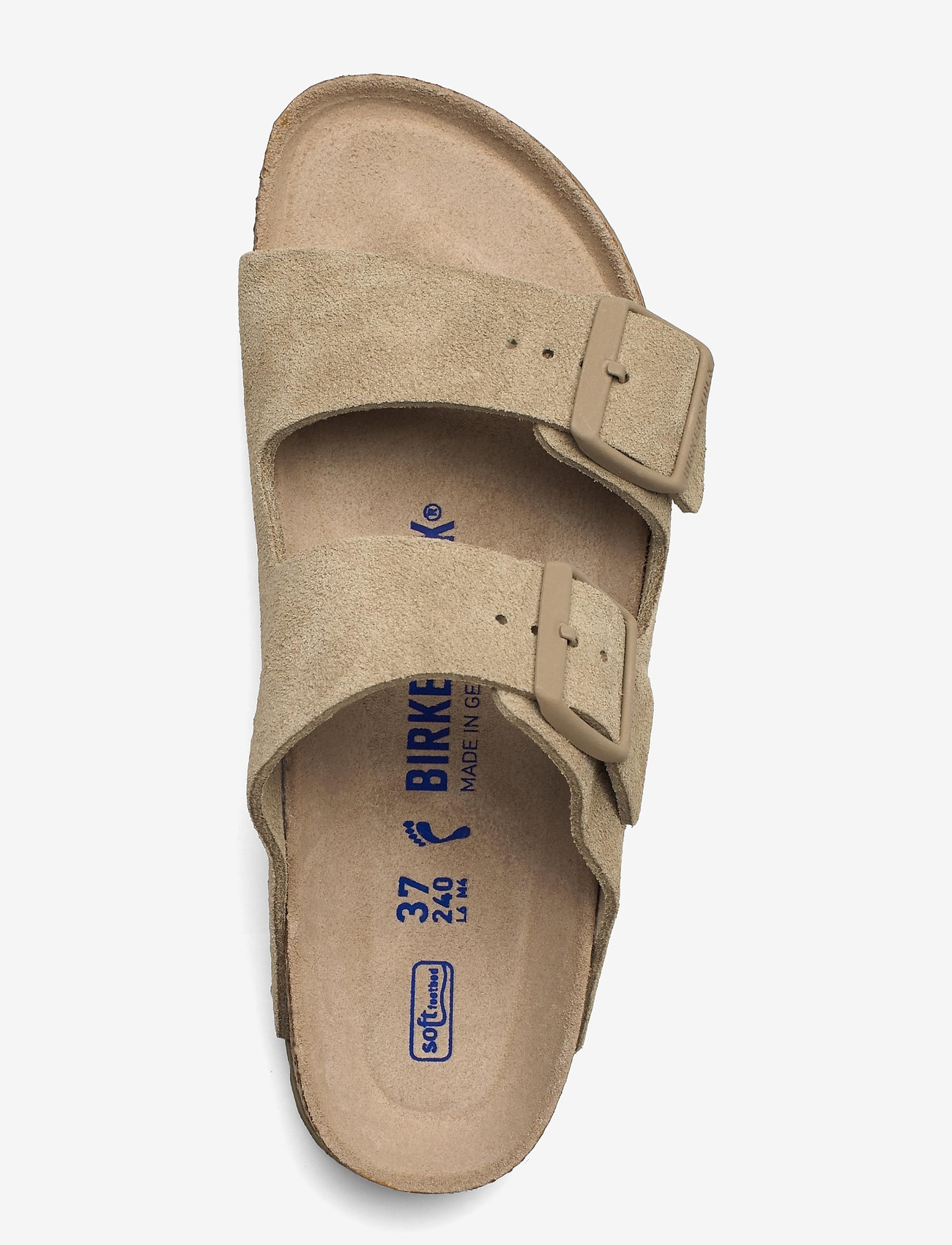 Birkenstock - Arizona Soft Footbed - flade sandaler - faded khaki - 3