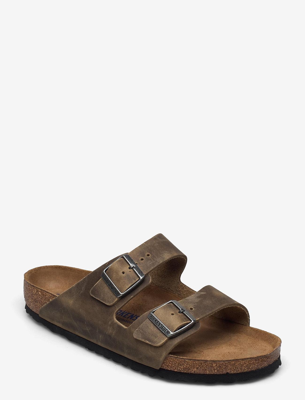 Birkenstock - Arizona Soft Footbed - sko - faded khaki - 0