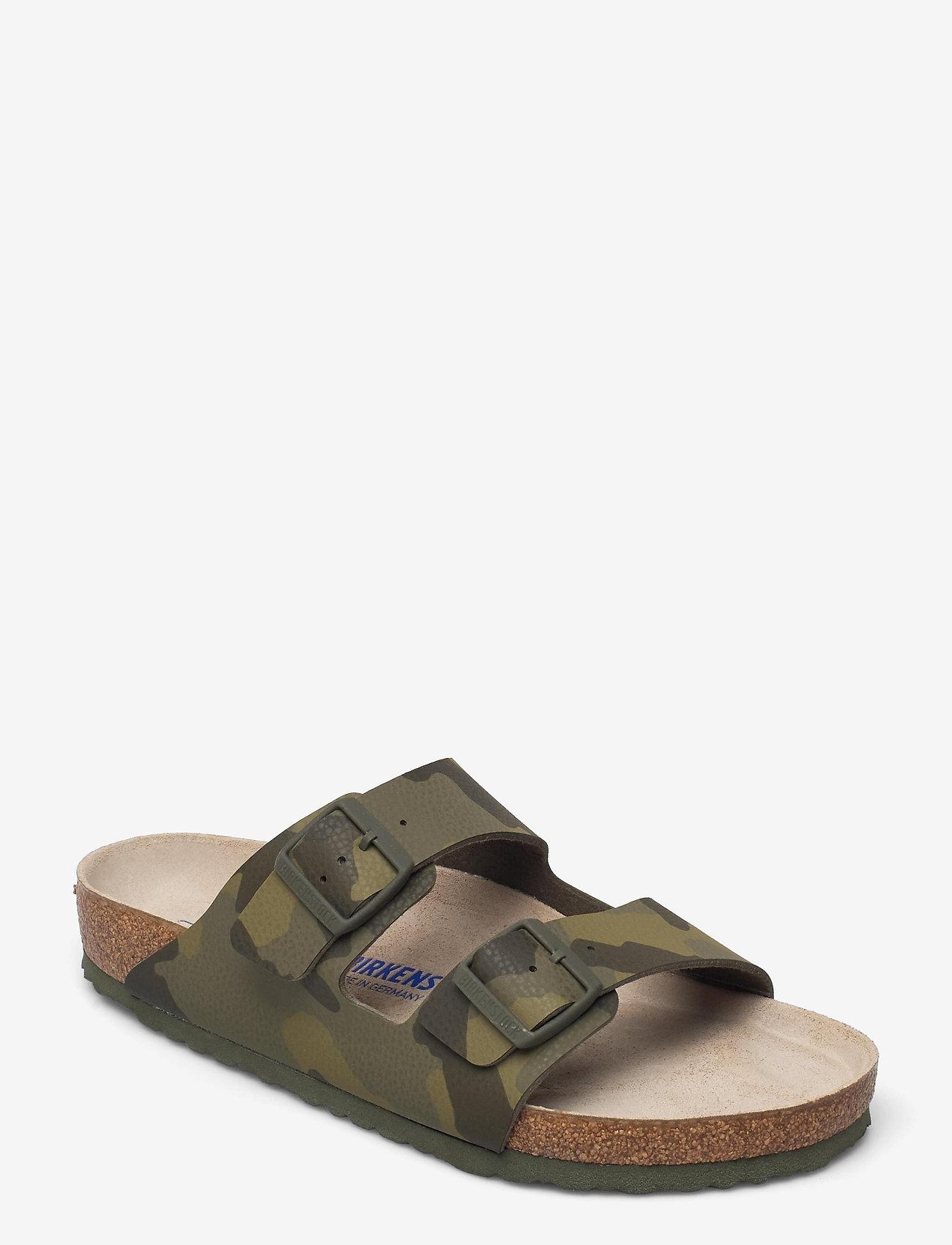 Birkenstock - Arizona Soft Footbed - sko - desert soil camo khaki - 0