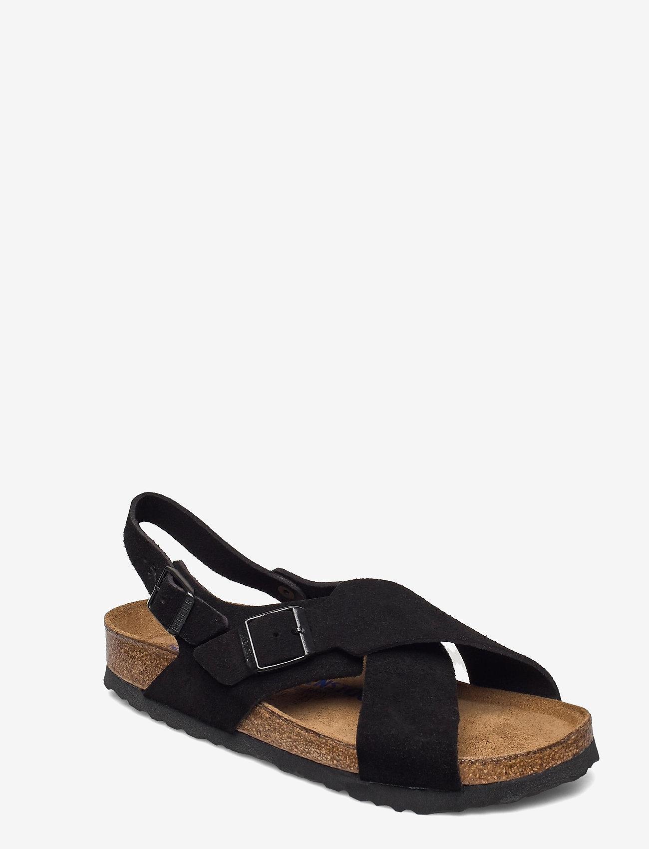 Birkenstock - Tulum Soft Footbed - flade sandaler - black - 0