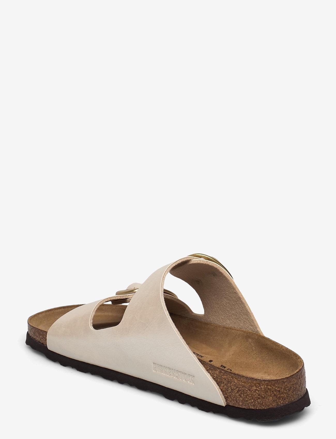 Birkenstock - Arizona Big Buckle - flade sandaler - graceful pearl white - 2