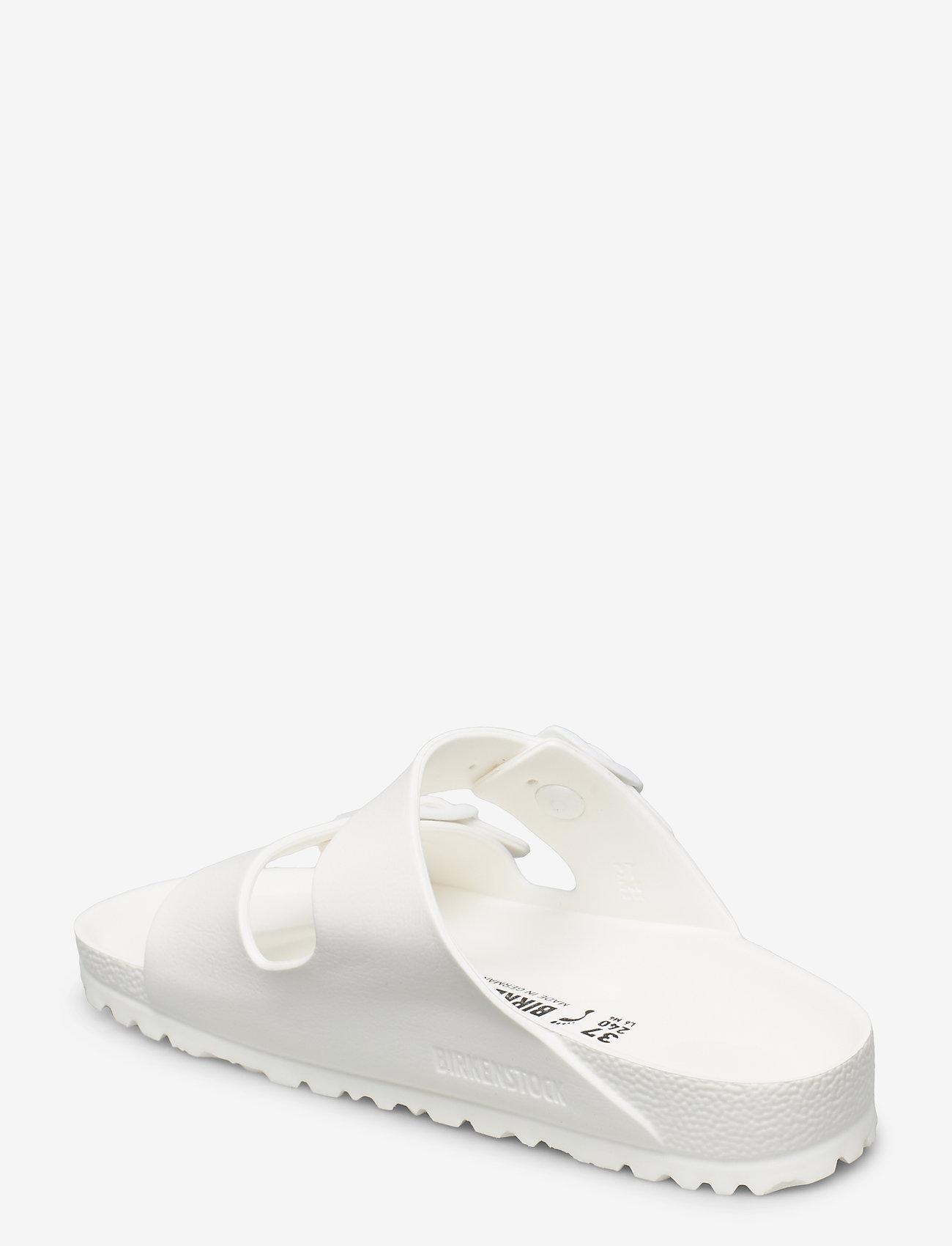 Birkenstock - Arizona EVA - flade sandaler - white - 2