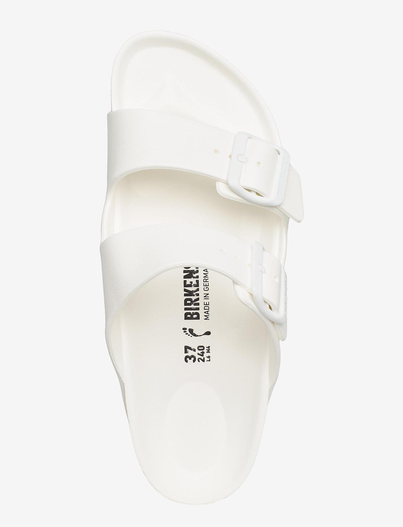 Birkenstock - Arizona EVA - flade sandaler - white - 3