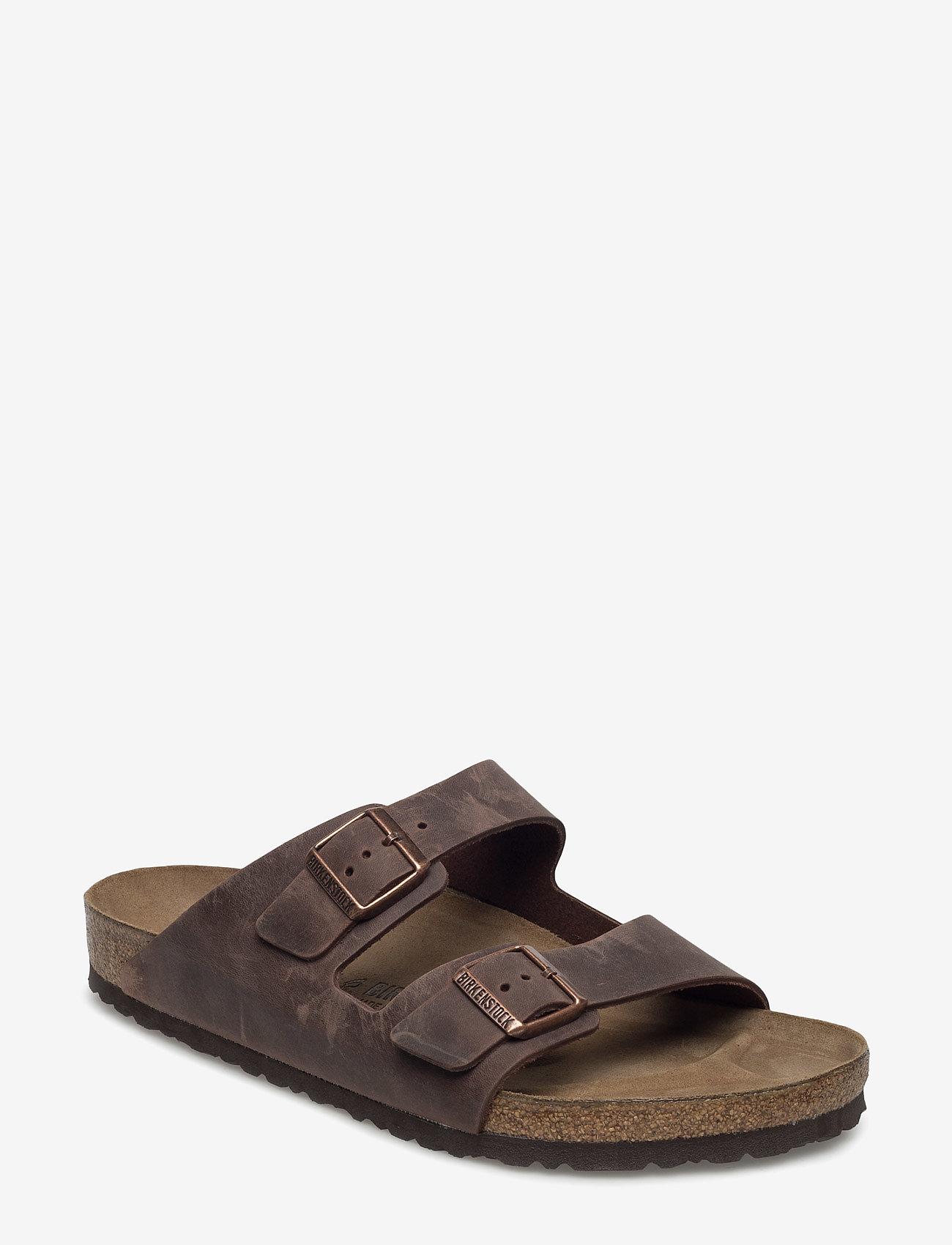 Birkenstock - Arizona - platta sandaler - habana - 0