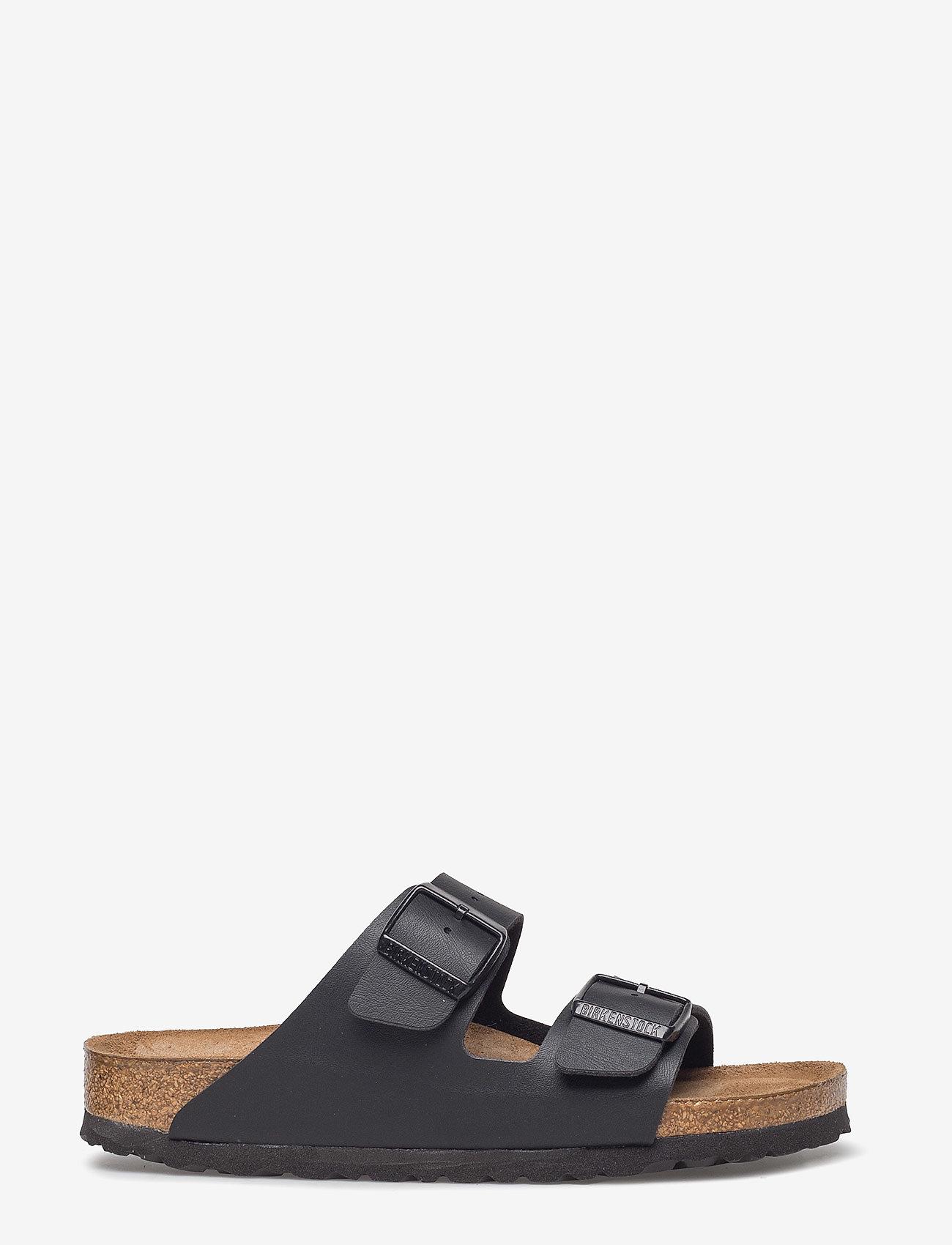 Birkenstock - Arizona Soft Footbed - platta sandaler - black - 1