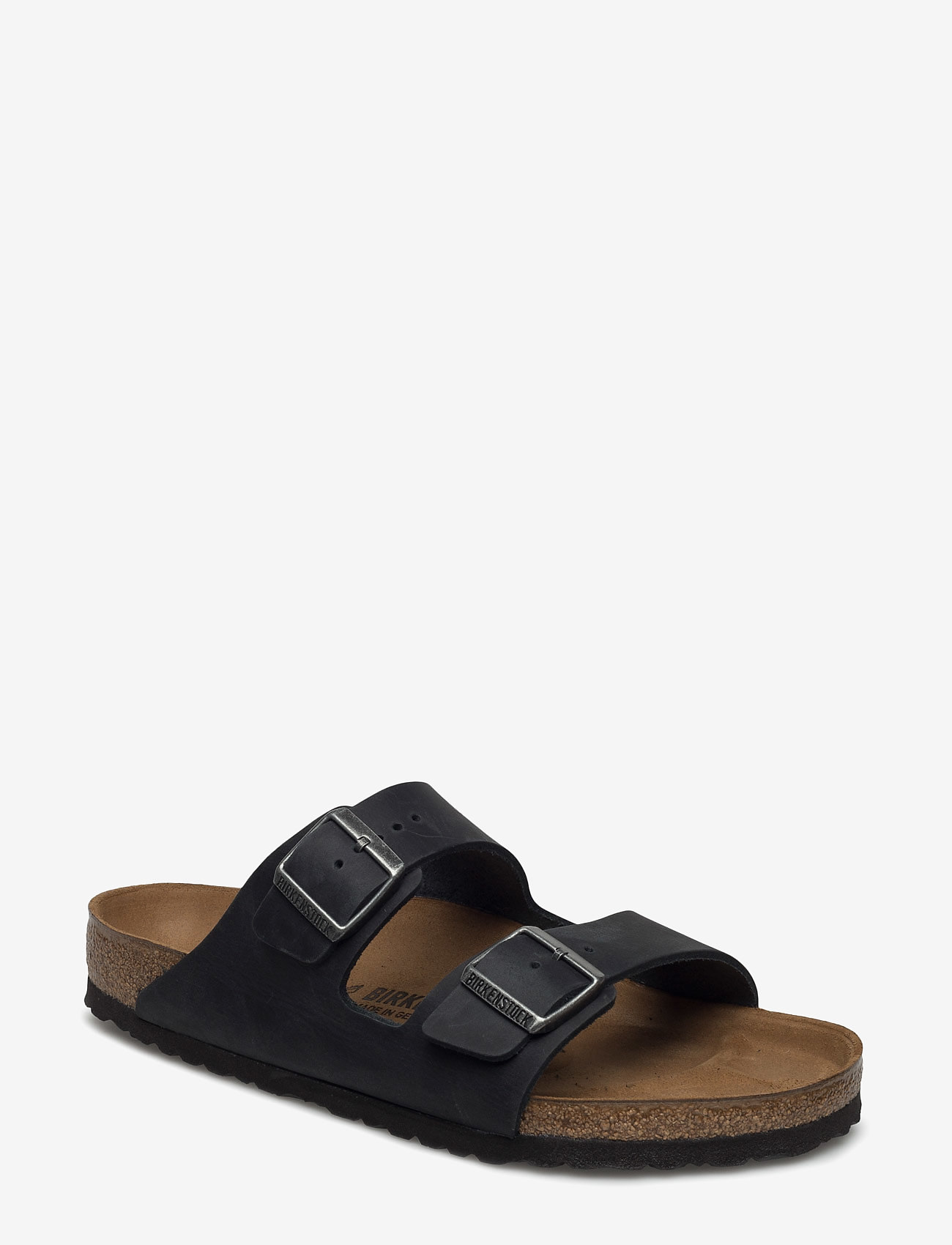 Birkenstock - Arizona - sko - black - 0