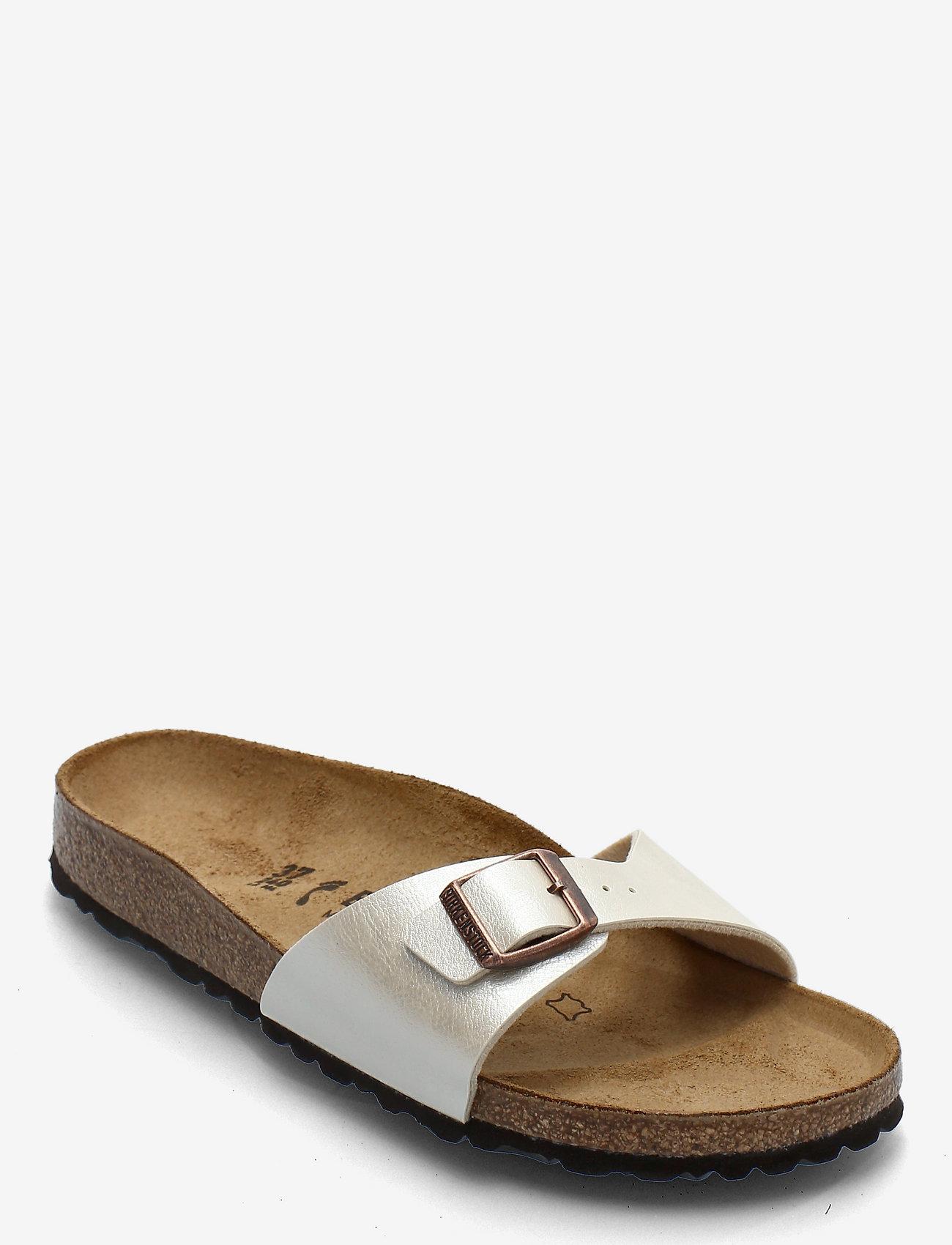 Birkenstock - Madrid - flade sandaler - graceful pearl white - 0