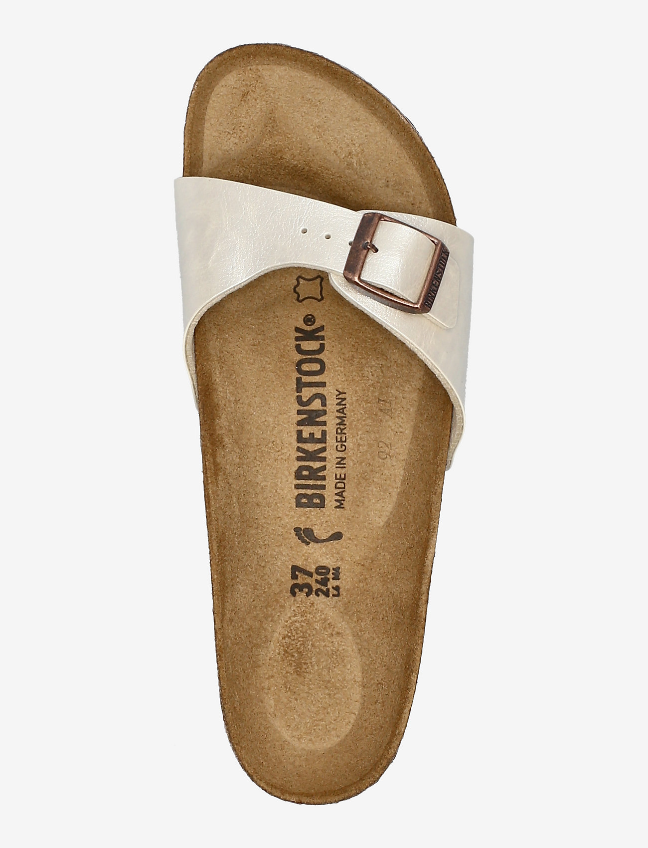 Birkenstock - Madrid - flade sandaler - graceful pearl white - 3