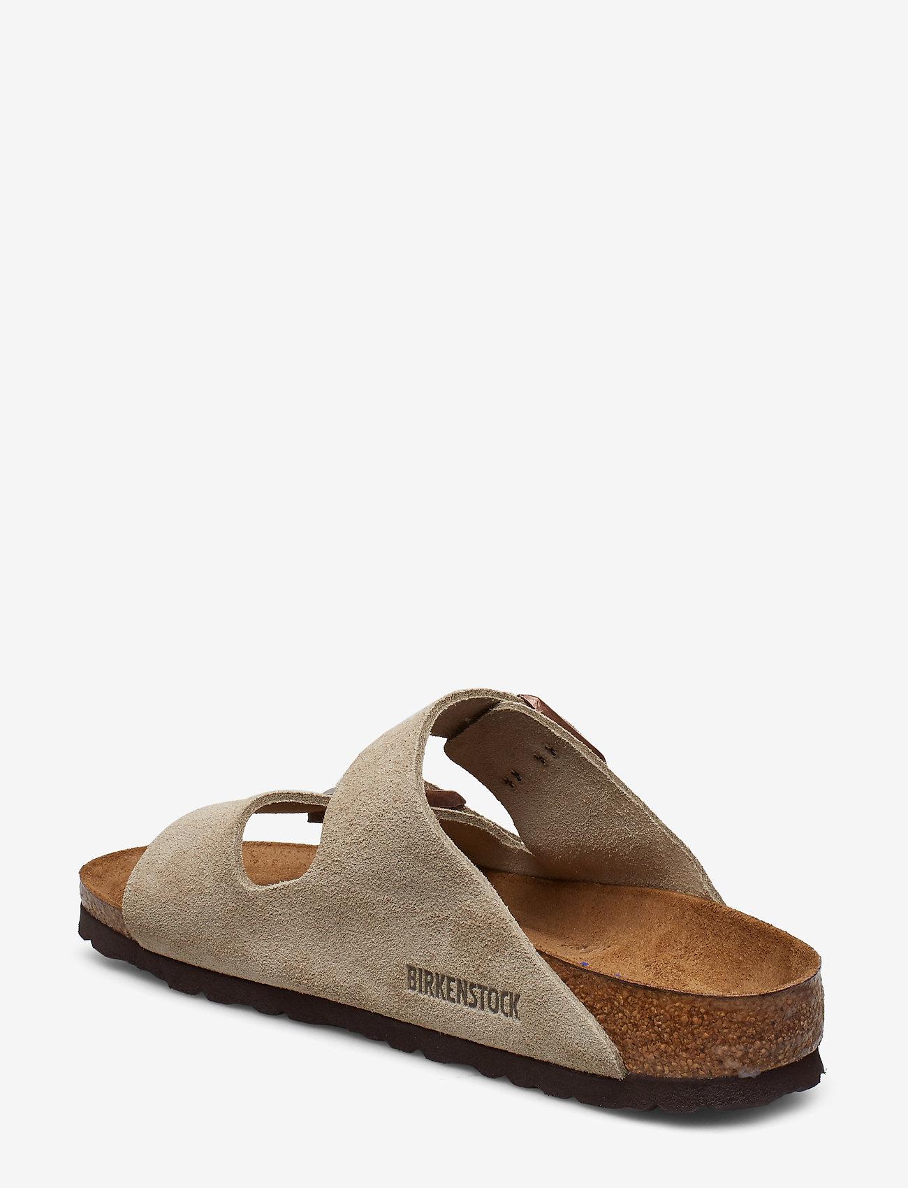 Birkenstock - Arizona Soft Footbed - flade sandaler - taupe - 2