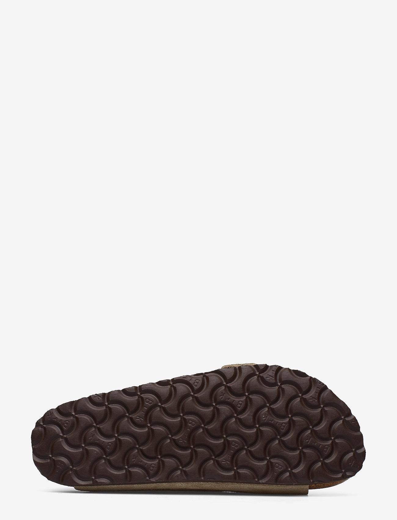 Birkenstock - Arizona Soft Footbed - flade sandaler - taupe - 4