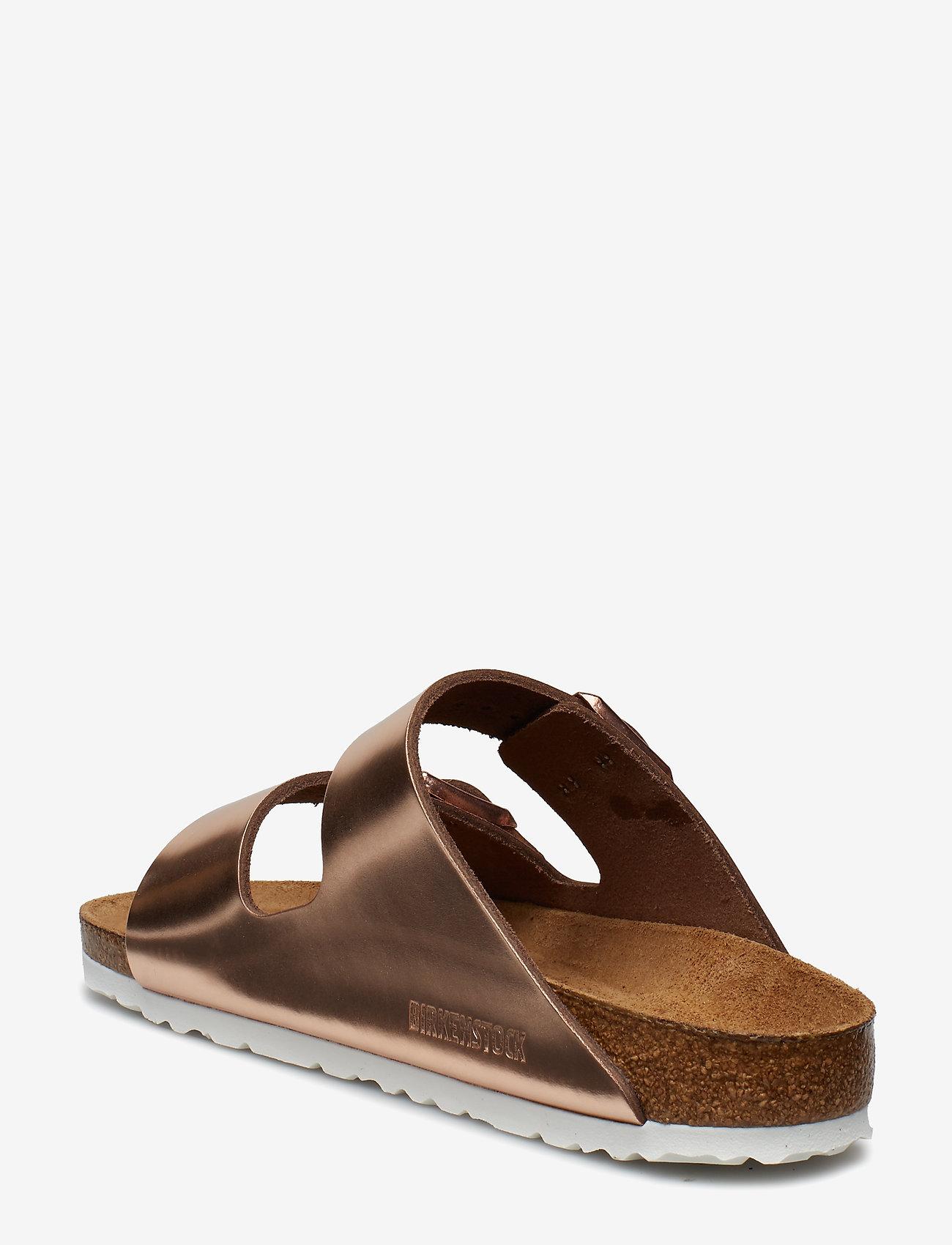 Birkenstock - Arizona Soft Footbed - flade sandaler - metallic copper - 2