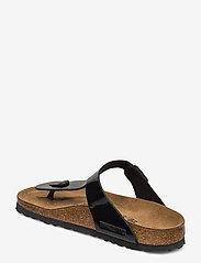 Birkenstock - Gizeh - flade sandaler - black patent - 2