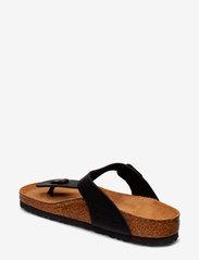 Birkenstock - Gizeh - flade sandaler - black - 2