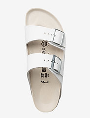 Birkenstock - Arizona - flade sandaler - white - 3