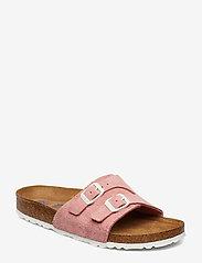 Birkenstock - Vaduz Soft Footbed - flade sandaler - rose - 0