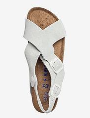 Birkenstock - Tulum Soft Footbed - flade sandaler - off white - 3