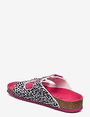 Birkenstock - Arizona - hjemmesko - leo lilly black pink - 2