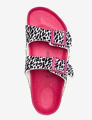 Birkenstock - Arizona - hjemmesko - leo lilly black pink - 3