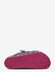 Birkenstock - Arizona - hjemmesko - leo lilly black pink - 4