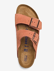 Birkenstock - Arizona Soft Footbed - flade sandaler - earth red - 3