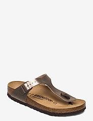 Birkenstock - Gizeh - flade sandaler - graceful taupe - 0