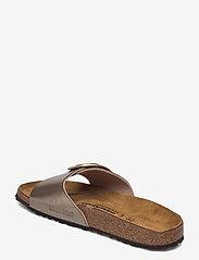 Birkenstock - Madrid Big Buckle - flade sandaler - graceful taupe - 2